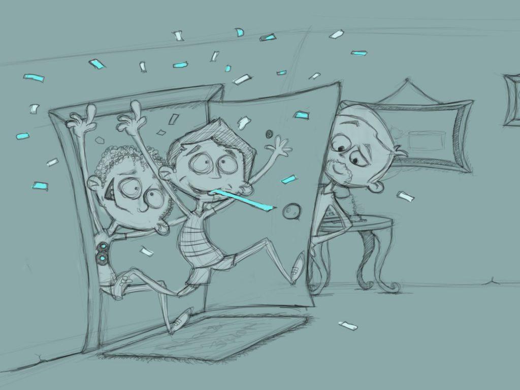 BenQ World Cup Storyboard