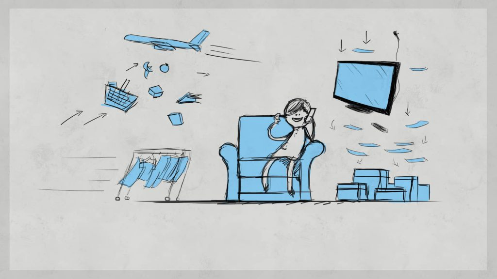 Semafone Animation Storyboard