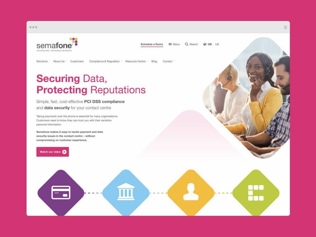 Semafone Website