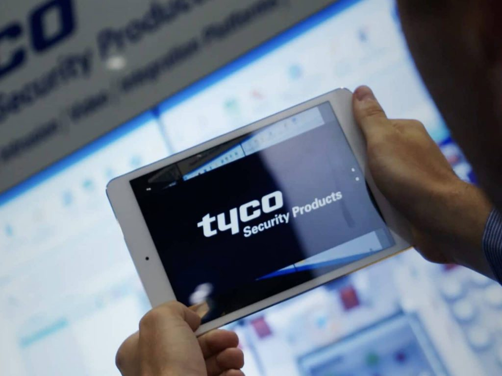 Tyco Security Products Augmented Reality App